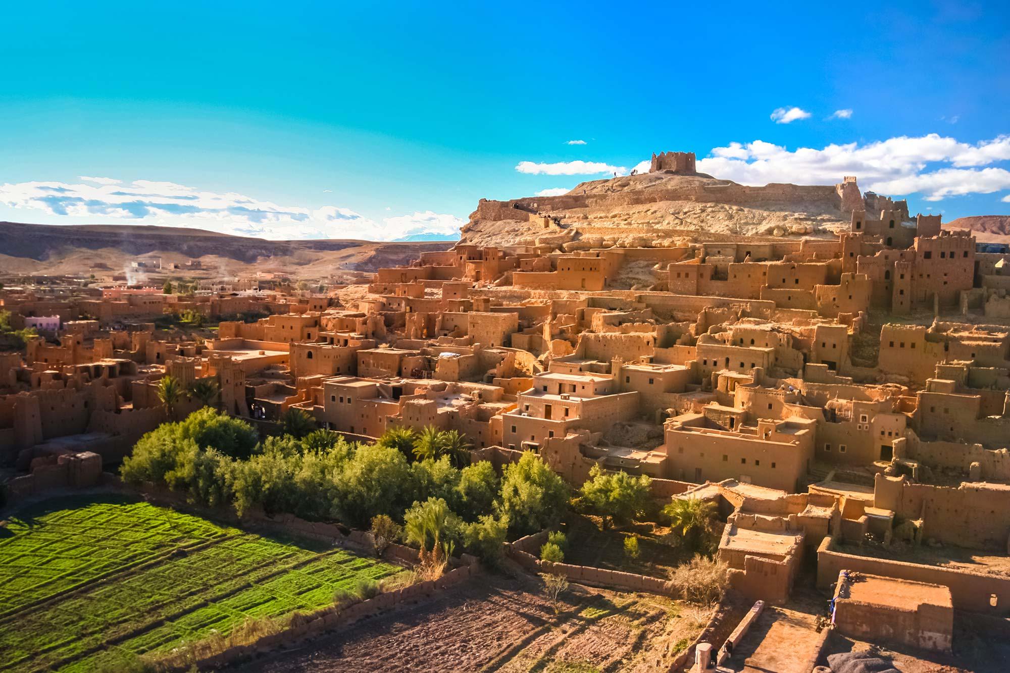 Day trip Ouarzazate Ait Ben Haddou Telouet kasbahs
